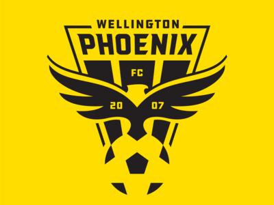 Wellington Phoenix 1 logo football soccer phoenix wellington