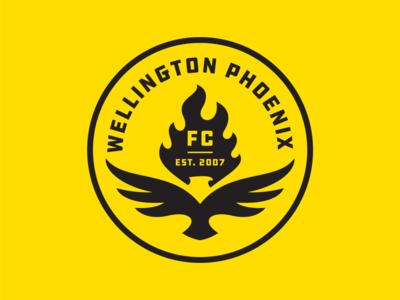 Wellington Phoenix 2 logo football soccer phoenix wellington