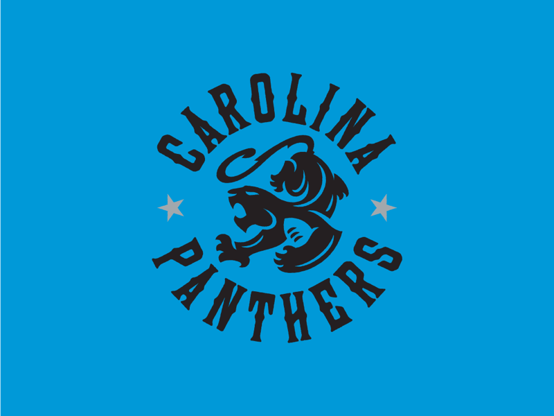 Carolina Panthers idea concept carolina panthers