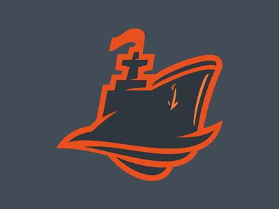 Boat Logo sea navy logo boat ship