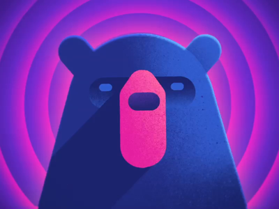 Cub Logo Revisit animation bear cub