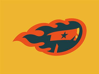 Fire Axe logo axe fire