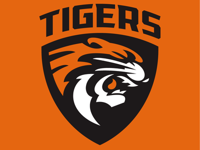 Tigers Logo desig sport sports logo tigers