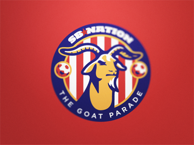 The Goat Parade sb nation united rebrand sports blogging logos