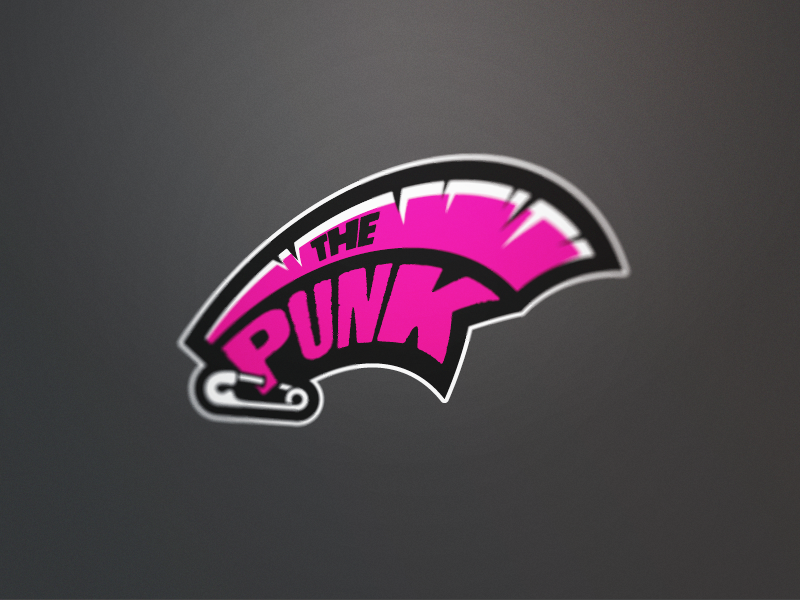 darts logos the punk by fraser davidson dribbble