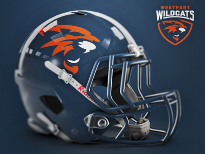 Westport Wildcats Helmet