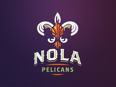 Pelicans 1 pelicans new orleans basketball nba nola sport logo