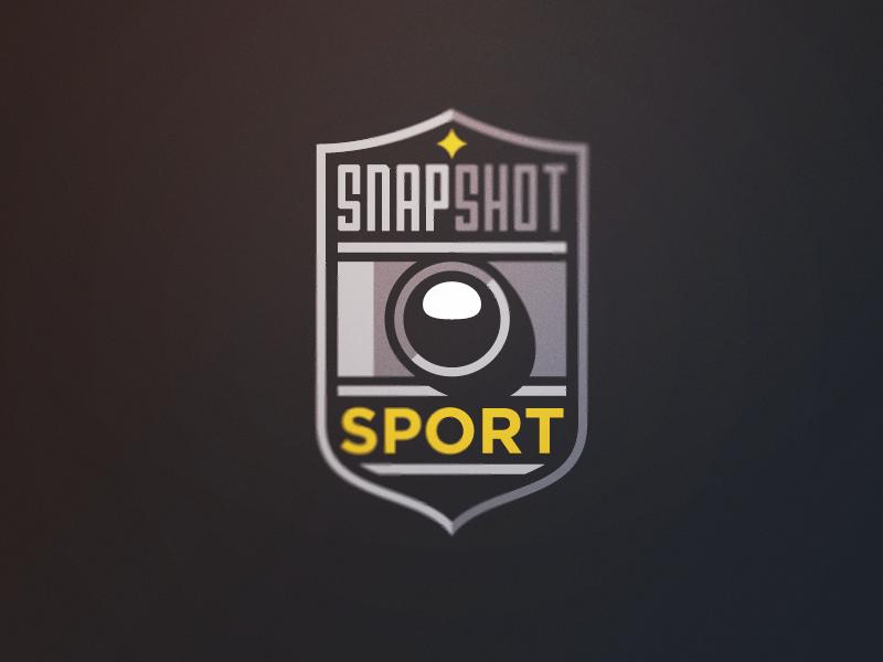 Snapshot 3 logo camera sports