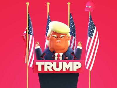 #TrumpFacts Season 2 illustration gif animated animation 2 season facts trump