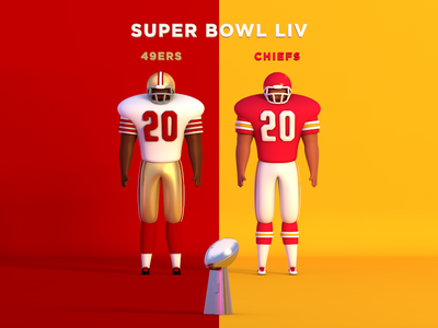 NFL Super Bowl LIV 49ers uniforms bowl super