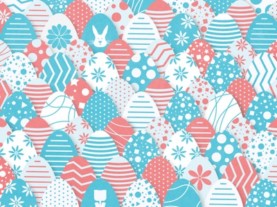Easter Game - Spot the Chick ui puzzle game illustration uidesign