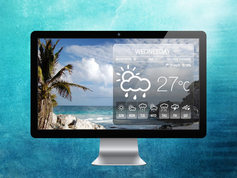 Weather Icons icons weather minimal meteorology summer temperature creative cloud winter ui web line