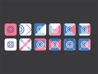 Experimenting with app icons