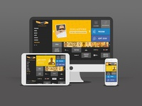 Rulezz responsive redesign