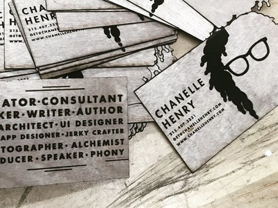 Wooden Business Cards (Personal Business cards v.11)