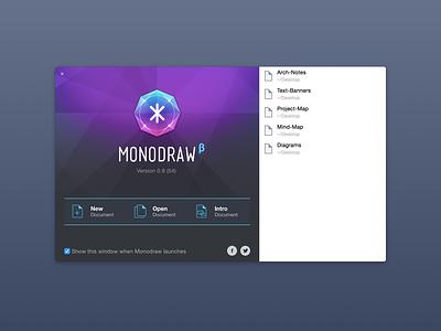 Launch Screen monodraw ascii art mac software osx