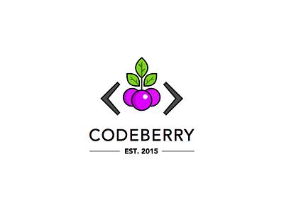 Codeberry Logo logo mark symbol berrry code codeberry