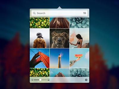 Stockmagic app design ui design menubar mac stockmagic