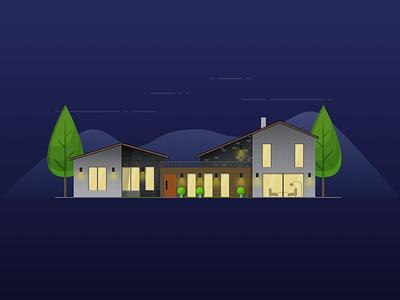 House illustration house