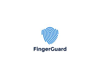 Logo Animation for FingerGuard illustration minimalist minimalism aftereffects logo designs logo motion logo animation animations animated minimal identity branding logo design logo