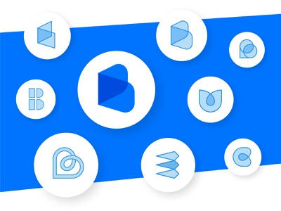 """B"" Sketches logo designer mobogram b monogram b logo b graphic design branding brand identity brand identity brand design logo design minimal logo"