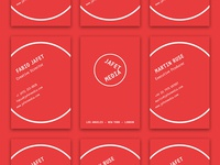 Jafet Media business cards