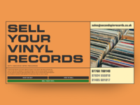 Second Spin Records - landing page