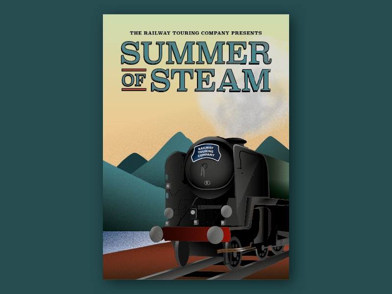 Summer of Steam by This is Fuller on Dribbble