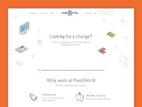 Pixel attachement jobs