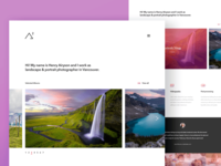 Airy2 - Photography Landing Page