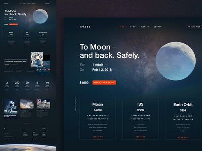 SPACED Homepage for #SPACEDchallenge