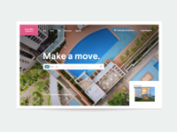 Real Estate Homepage Header Exploration