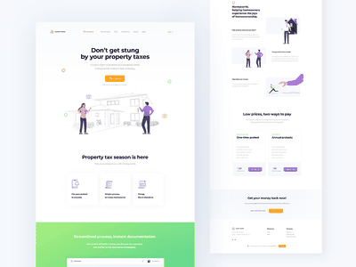 Another day in Landing land marketing design landing design startup landing page saas landing page landing page clean minimal website homepage landing site web