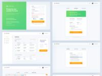 Web app for tax returns