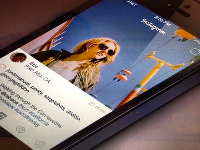 New Instagram (iOS 7 version)