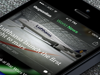 theguardian iOS app