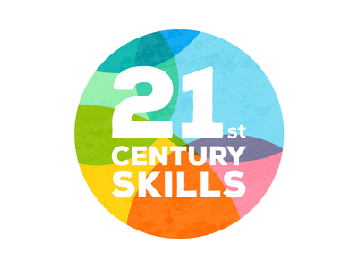 21st Century Skills logo logo education brand red pink blue green yellow orange white