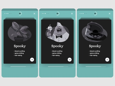 Words Booster - English teaching cards weird dribbleweeklywarmup sewerage synonym plants carnivorous icecream halloween spooky creepy web app icon ux logo branding ui vector artwork illustration