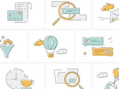 Onboarding illustrations branding app vector flat ui illustration design