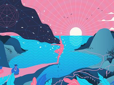 Fool animals textures design vector illustration adobe illustrator
