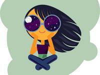 Stargaze Girl