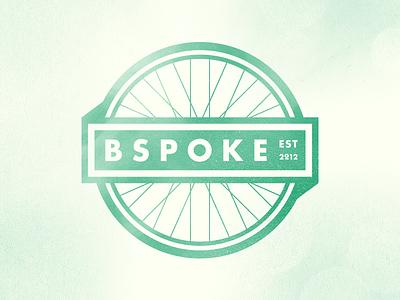 Bspoke wheel mark badge logo bicycle brand ui distress round futura draplin ripoff