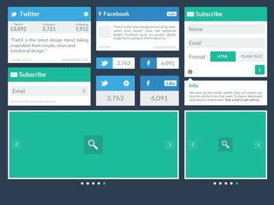 More Progression on the Flat UI Kit