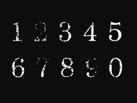 Font Download - Drake - The Numbers