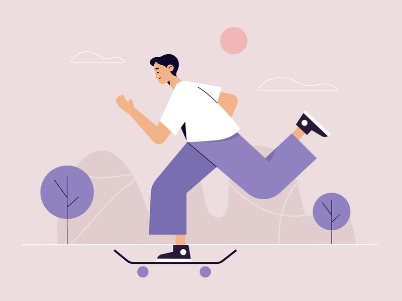 Outdoor activities men freepik free vector illustration free resource flat designs flat design character concept