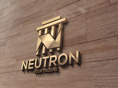 Neutron logo design