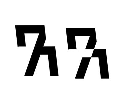 A7 Logo design