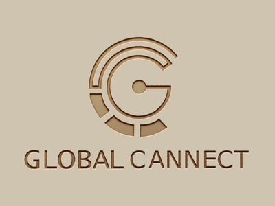 Global connect logo design