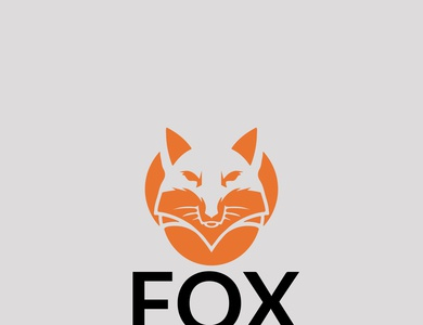 fox logo design vector logo design logo animation illustration design illustrator branding typography fox racing fox tail fox logo fox logo design