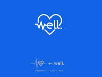 Heartbeat + Well logo inspiration